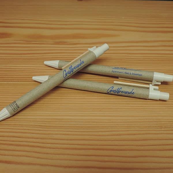 Kugelschreiber-Gastfreunde